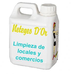 limpieza de locales comerciales en Barcelona Neteges D'Or