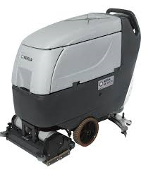 limpieza de parking Terrassa con maquina fregadora secadora